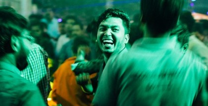Smiling Face in Temple Party, Chittagong Bangladesh